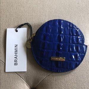 Brahmin leather coin purse